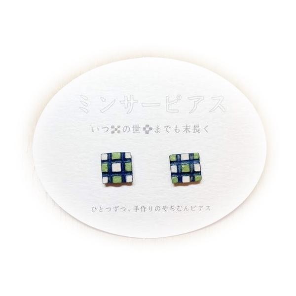 ミニミニクラフトフェア沖縄 新商品入荷 【Mariya's chicken】ミンサーピアス