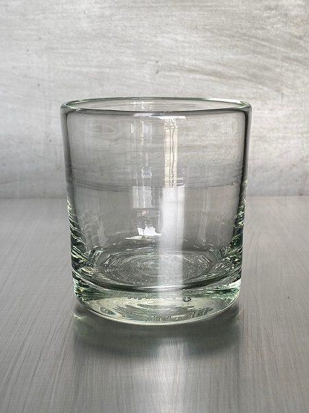 底泡ロックグラス【再生ガラス工房 てとてと】
