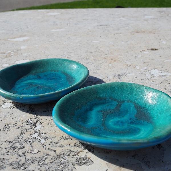 玉城焼 3寸皿