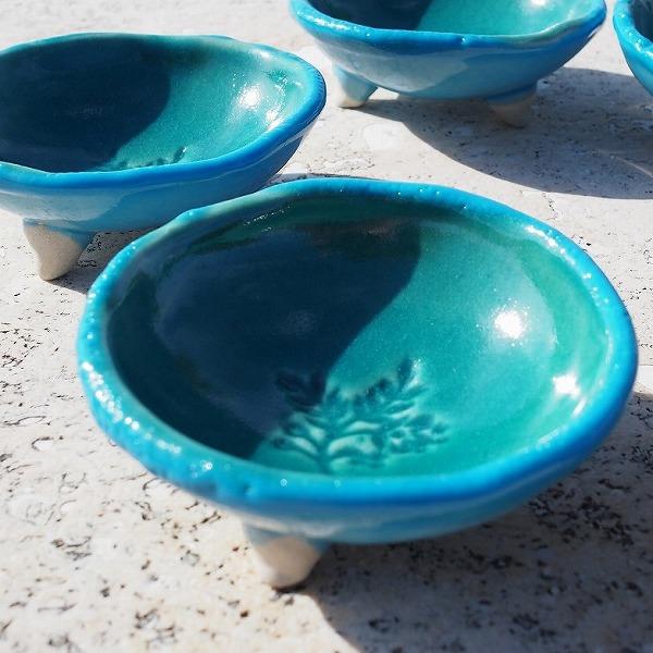 玉城焼 足つき小鉢